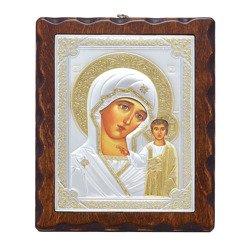 Ikona srebrna Matka Boska Kazańska 31175LAOROA
