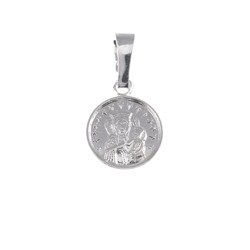 M46 Medalik srebrny - Matka Boska Częstochowska