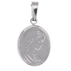 M62 Medalik srebrny - Matka Boska