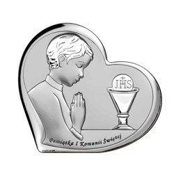 Obrazek Srebrny Pamiątka I Komunii 6518O