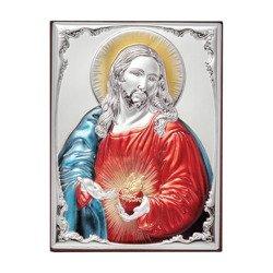 Obrazek srebrny Serce Jezusa 309812DA