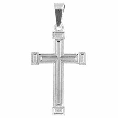 Krzyżyk srebrny M124