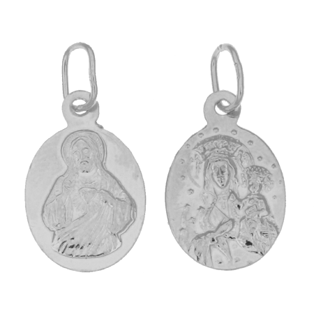 Medalik srebrny - Matka Boska Częstochowska ML020