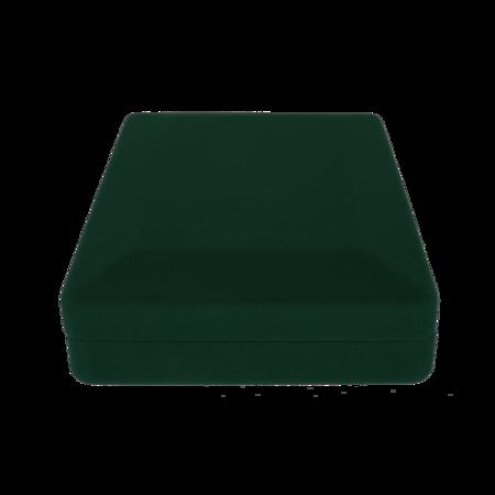 Pudełko flokowe ZIELONE P8/FLOKZIEL