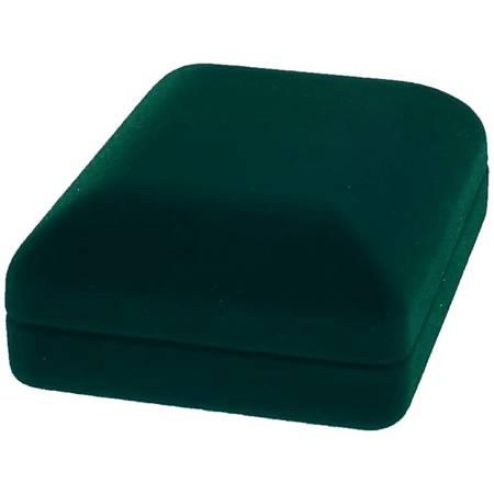 Pudełko flokowe zielone P7/FLOKZIEL