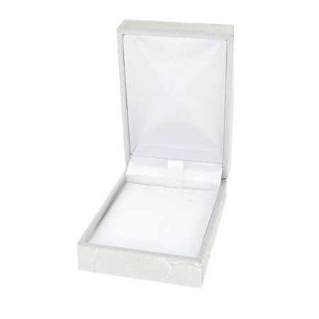 Pudełko skórzane białe PZH-3/A1