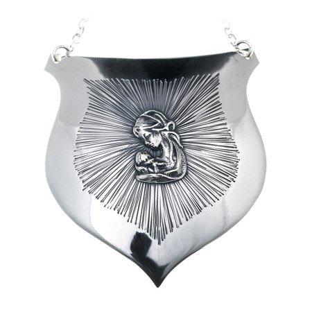 Ryngraf srebrny 925 Matka Boska z Dzieciątkiem R31